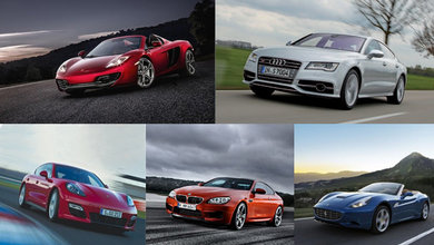 The new year is always a great time for change, and turning over new leaves, so if you've thinking of getting yourself a new car, this list of our 2012 favourites might just give you that final push in the right direction.