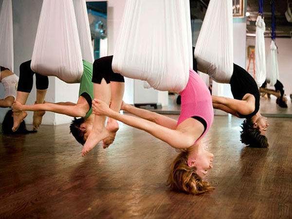 Pink, Madonna and Britney Spears have all tried Anti-Gravity Yoga -- now it's your turn at Bodywize Yoga Studio in Happy Valley.