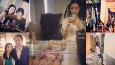 In front of and behind the camera, fashion stylist Veronica Li is a regular at Hong Kong's fashion events.