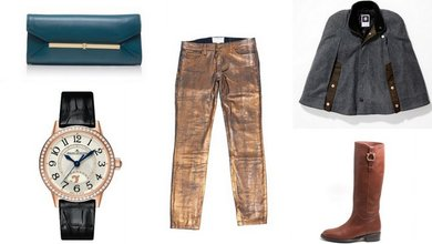 Shopping for a fashionista? Here are five great gifts that will add to her already stylin' wardrobe.