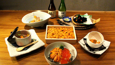 Masu Robatayaki & Sushi has got a great selection of uni dishes on their new summer menu.