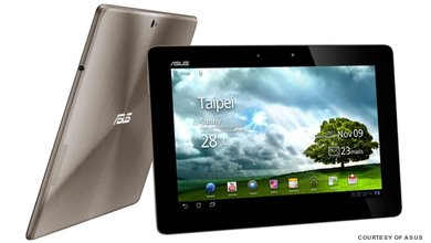 The ASUS Eee Pad Transformer is a svelte 8.3mm thin and the only metallic tablet that weighs in at a mere 586g.