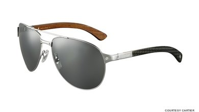 The Santos de Cartier aviators are bold and sleek, perfect for everyday wear.