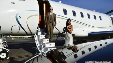 Charter your own private jet and you'll be in complete control of your itinerary.