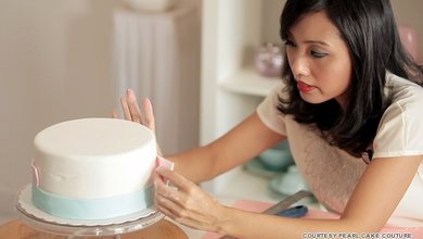 Satira Diana the founder of Pearl Cake Couture is a self-taught cake designer.
