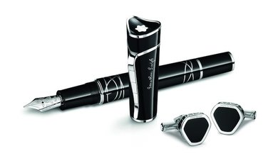 "The latest Montblanc Writers Edition pays tribute to the creator ""Gulliver's Travels"" Jonathan Swift. The exquisite writing instrument comes with a handsome black body with marvelous attention to detail."
