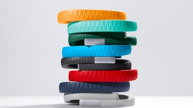 Work towards a better and healthier lifestyle with the Jawbone UP lifestyle wristband.