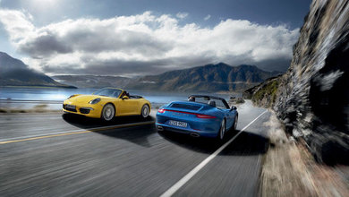 The new 911 Carrera 4S from Porsche delivers traction and dynamic performance to the fourth power.
