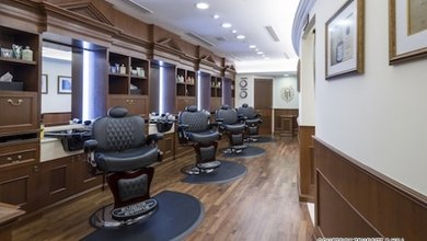 This is the kind of barbershop that gives luxurious treatments specifically for men.