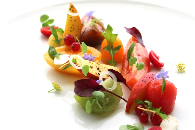 Dish of the week: Heirloom tomato salad at Petrus - LifestyleAsia Hong ...