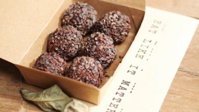 Raw chocolate balls Mana raw food in Hong Kong