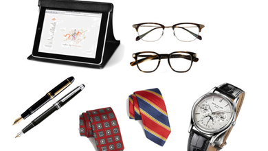 We round up a list of items you should have to keep you looking dapper in the boardroom