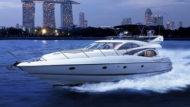 luxury yacht charter singapore sunseeker manhattan 64